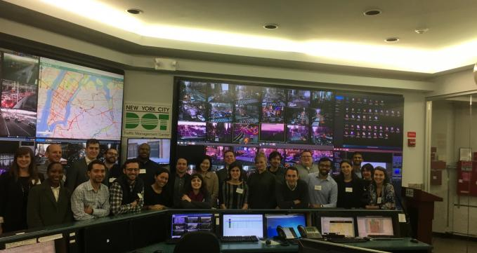 Emerging Leaders at NYC Traffic Management Center