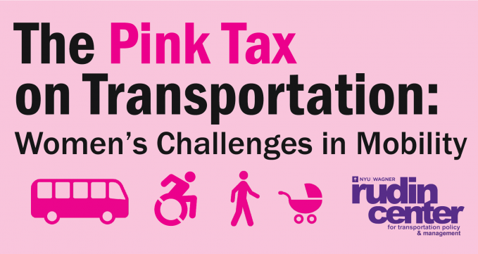 The Pink Tax on Transportation event logo