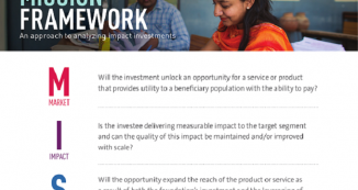 infographic of MISSION framework