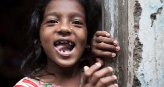 photo of young Indian girl - cover of case