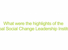 Highlights of RCLA's Global Social Change Leadership Institute