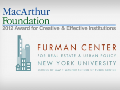 Furman Center Receives MacArthur Award for Creative and Effective Institutions